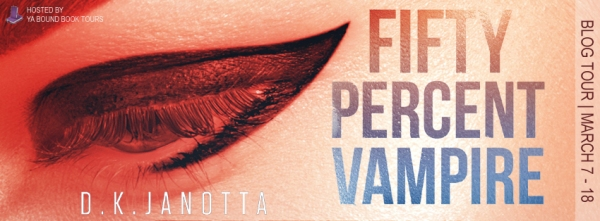 Fifty Percent Vampire tour banner